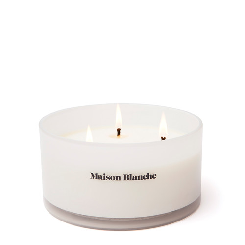 004 Bergamot & Tobacco / Deluxe Candle