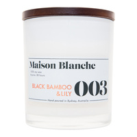 003 Black Bamboo & Lily