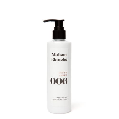 006 Rose & Amber / Hand Lotion