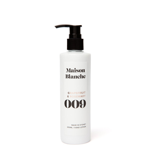 009 Grapefruit & Rosemary / Hand Lotion