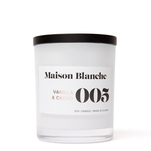 005 Vanilla & Cacao / Large Candle