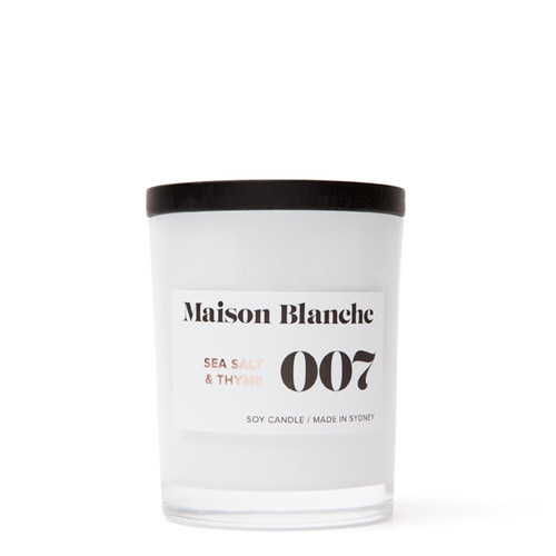 007 Sea Salt & Thyme / Medium Candle