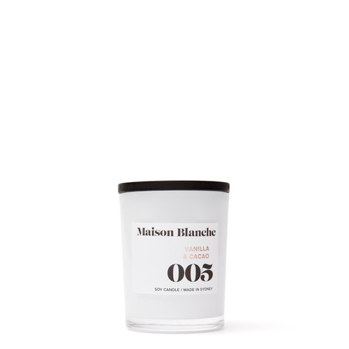 005 Vanilla & Cacao / Small Candle
