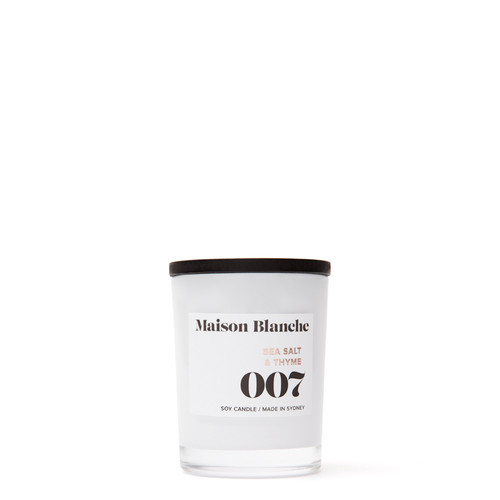 007 Sea Salt & Thyme / Small Candle